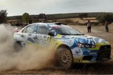 Juan Carlos Quintana podría proclamarse vencedor de la Mitsubishi Evo en Córdoba