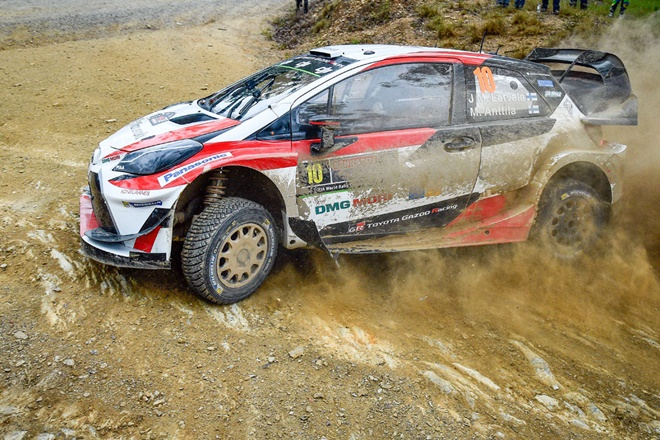 Rallye australia latvala toyota yaris wrc