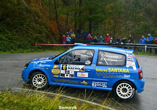 Cesar Fernández y Rodolfo Rodríguez hacían un sensacional Rallye alcanzando la segunda posición