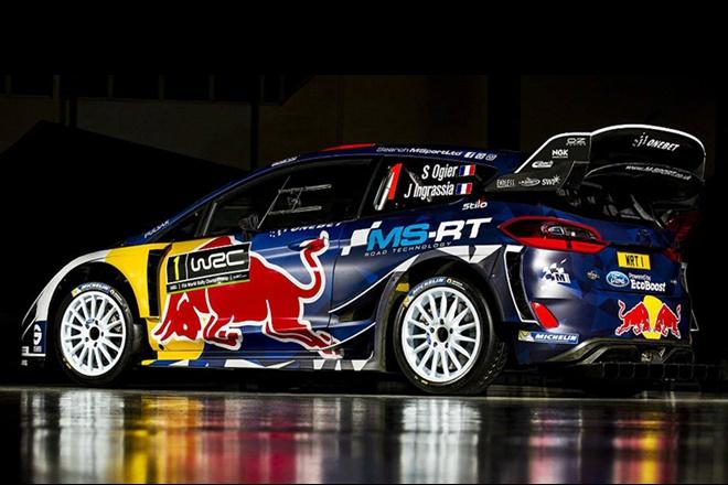 M-Sport Ford World Rally Team 2018