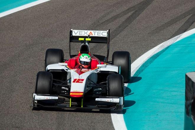f2 test abu dhabi campos racing