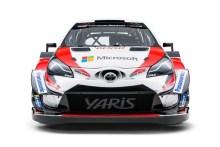 Así es el nuevo Yaris WRC 2018