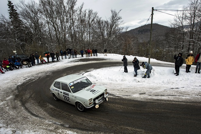 Cortes Alsina SEAT 127Rallye Monte-Carlo Historique 2018