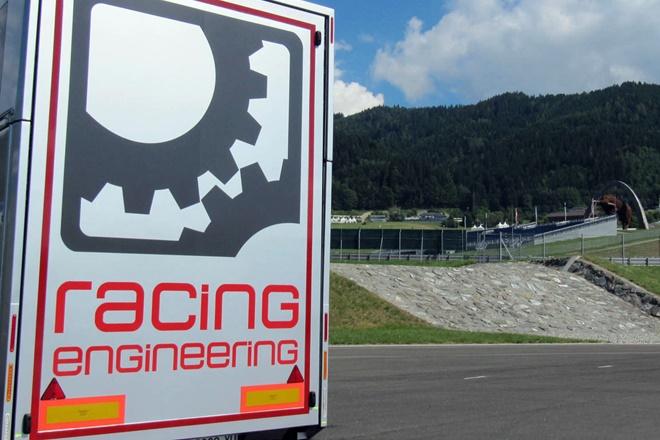 Racing Engineering Logo Instalaciones