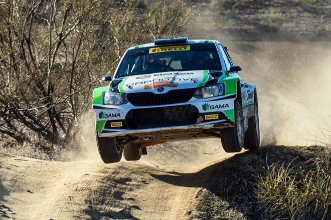 Rallye paracuellos pelaez skoda fabia r5 raceseven