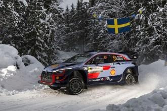 Hyundai toma el podio en Suecia