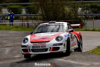 Marcos Diego empieza la temporada imponiéndose en el Rallysprint Hoznayo
