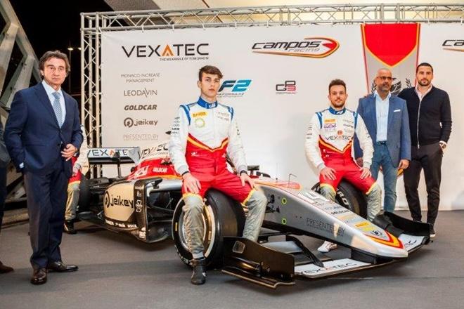 Campos Racing F3 presentacion