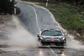 Daniel Marban y Andrea Lamas ganan en un complicado Rallye de Arganda del Rey