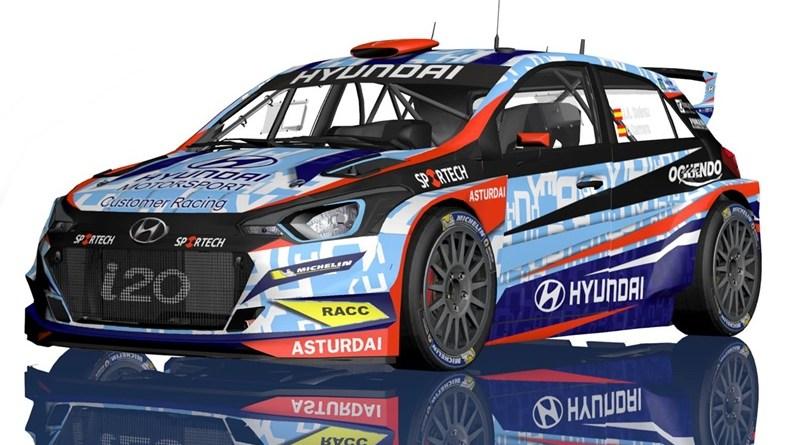 Hyundai i20 R5 RaceSeven Suarez