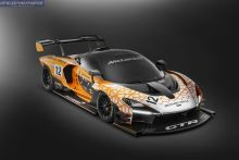 McLaren presenta el Senna GTR Concept, anticipo de la versión de carreras del McLaren Senna