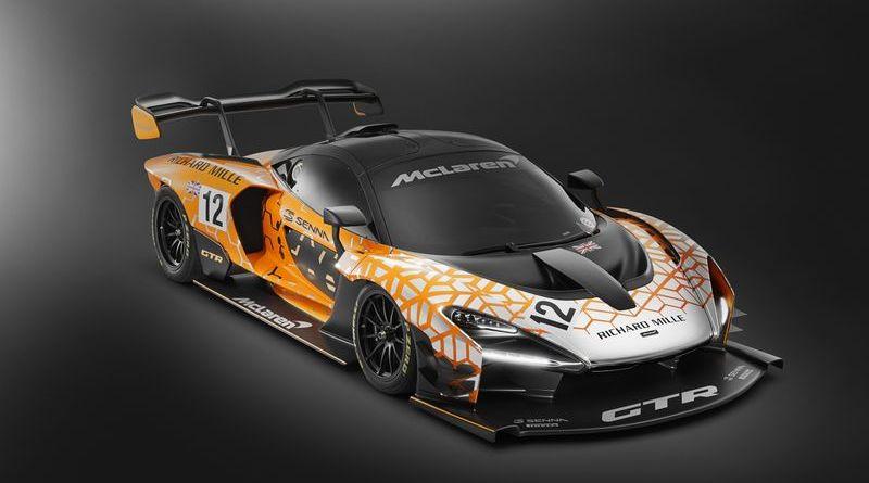 McLaren Senna GTR Concept 2018