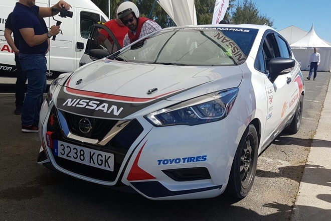 Nissan Micra copa Canarias