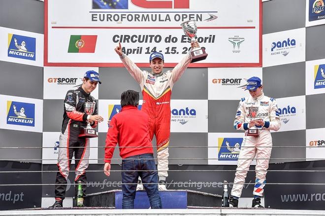 EF Open podio siebert campos racing estoril