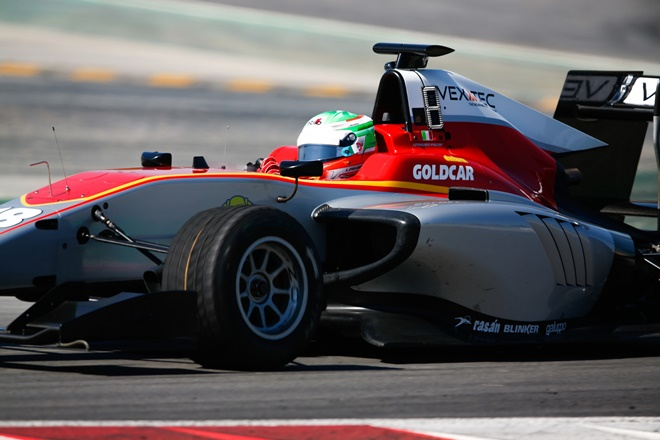 GP3 pulccini campos racing test