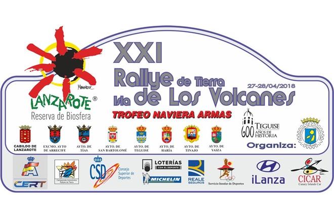 Placa Rallye Isla volcanes