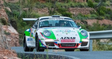 Rallye Almeria Aznar Porsche 911