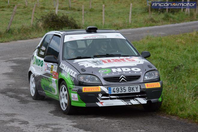 Rallye Guriezo Saxo Cup 1 Clasificado Jokin Madina 1104
