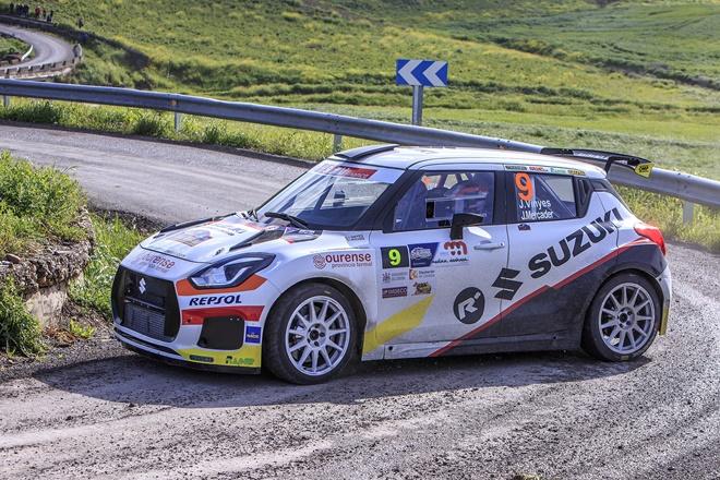 Rallye Sierra morena Vinyes suzuki swift n5