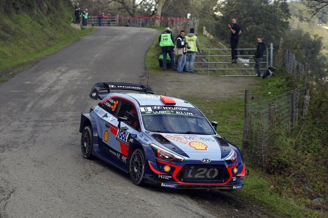 WRC Córcega Hyundai Sordo