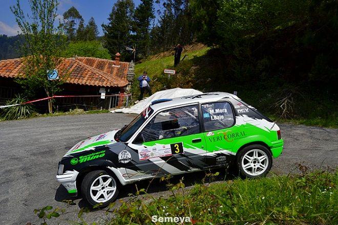 Mora lograba finalizar el Rallye logrando la segunda posición