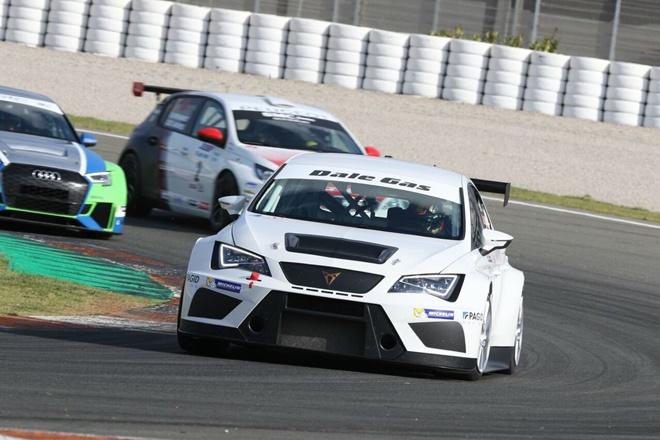 De los Milagros-Carbo Cupra TCR Valencia previo motorland CER