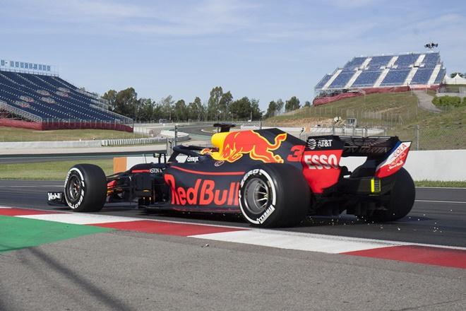 F1 test montmelo verstappen redbull
