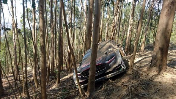 Fiesta WRC ogier accidente portugal