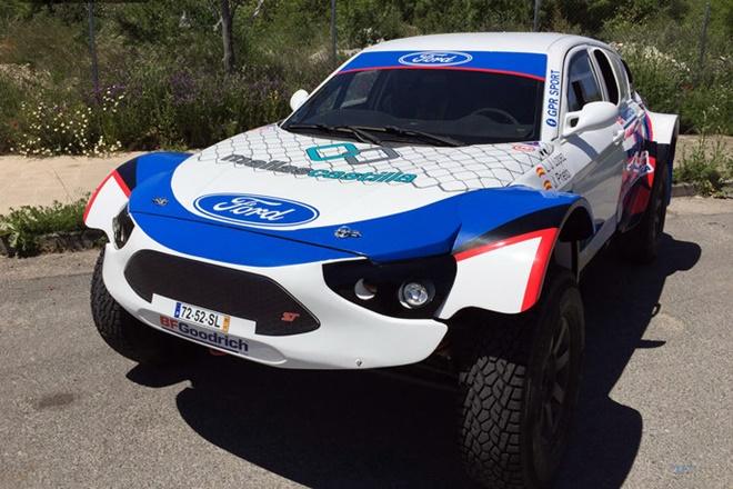 Ford Focus ST Raid GPR CERTT