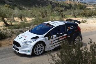 Fernando Compairé y Helena Carrasco logran un cómodo triunfo en el II Rallysprint Bajo Aragón