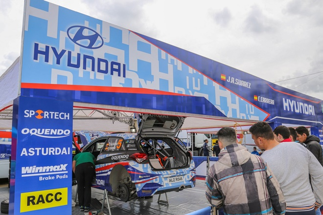 RaceSeven asistencia Hyundai i20 R5
