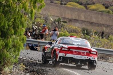 Rallye Adeje 2018 Monarri Abarth 124