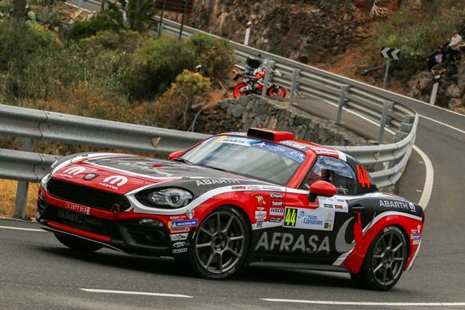 Rallye Islas Canarias Monarri 124 Abarth