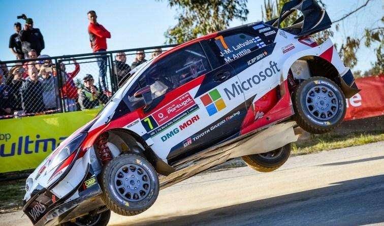 Rallye Portugal latvala shakedown