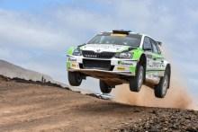 RaceSeven con José Luis Peláez conquista la segunda plaza en el Rallye Isla de Los Volcanes