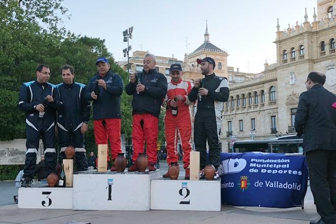 Rallye de Valladolid podio