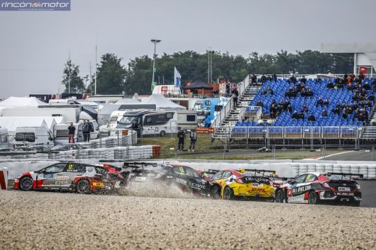 WTCR Nurburgring salida 2