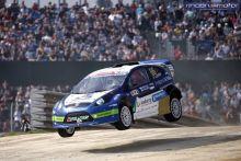 Progresión de Lloveras en el WRX2 con el Ford Fiesta de PCR Sport