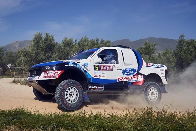 Ruben Gracia Ford Ranger pre extremadura
