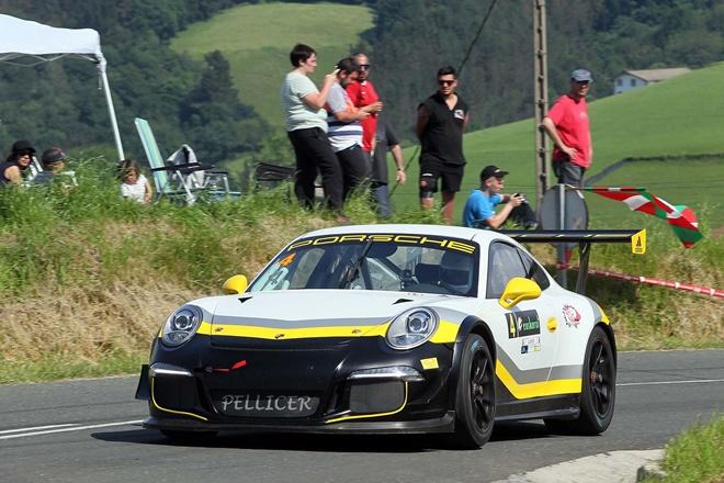 Subida Aia Scherer Porsche 911 GT3