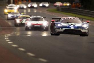 Ford con su tercer podio consecutivo en las 24 horas de Le Mans
