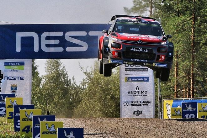 Rallye Finlandia Ostberg citroen 3007