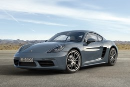 Porsche 718 Cayman 2016