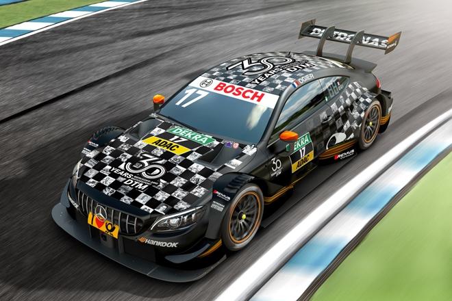 DTM Sebastian Ogier Mercedes-AMG C63 2009