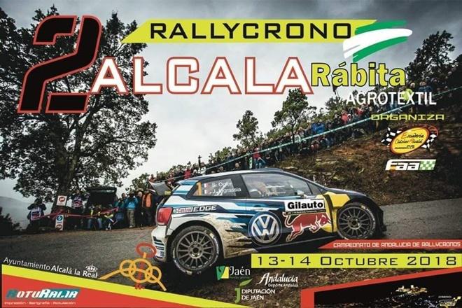 Rallye crono alcala 2018 placa