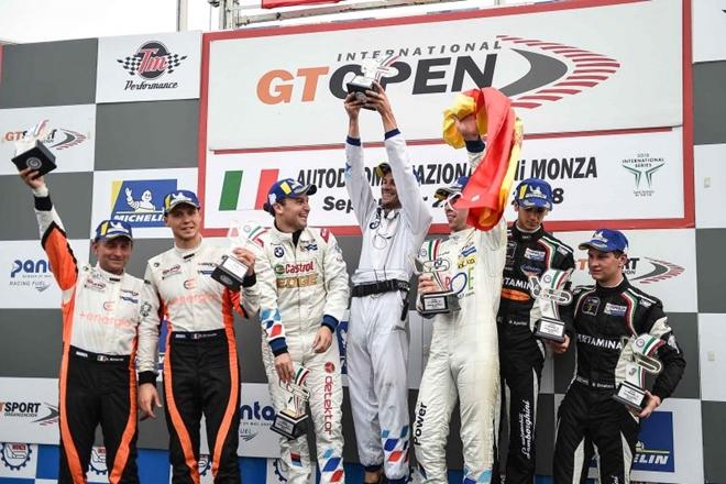 gt open monza podio carrera 2 2409