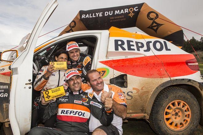 rallye marruecos esteve equipo bv6