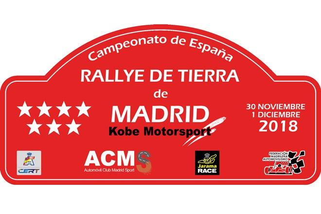 rallye tierra madrid 2018 placa