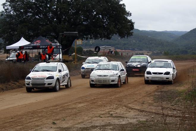 XVII Autocross Aguaviva salida turismos 2011