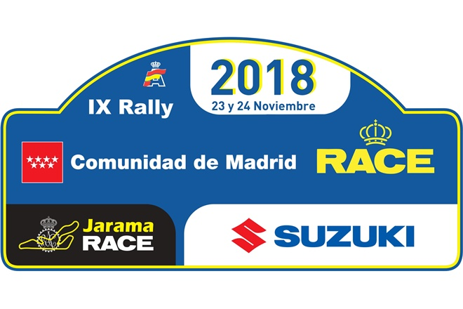rallye madrid race 2018 placa